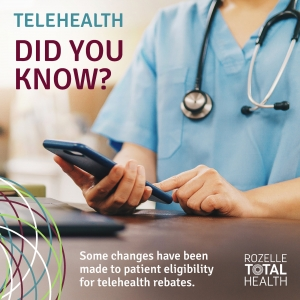 Changes to telehealth rebates